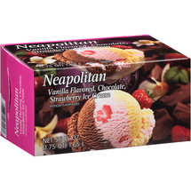 Great Value Neapolitan Ice Cream