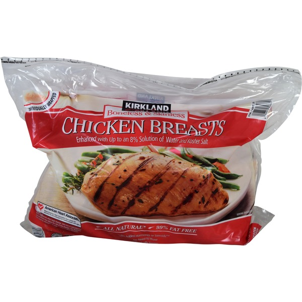 Kirkland Signature Boneless Skinless Chicken Breast, Individually Wrapped