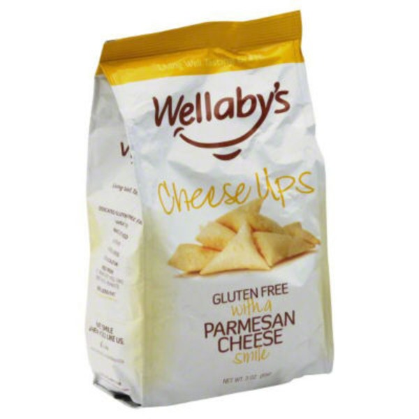 Wellaby's Parmesan Cheese Ups, Gluten Free