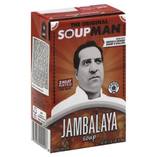 The Original Soupman Jambalaya Soup