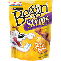 Purina Beggin' Strips Bacon & Cheese Flavors Dog Snacks