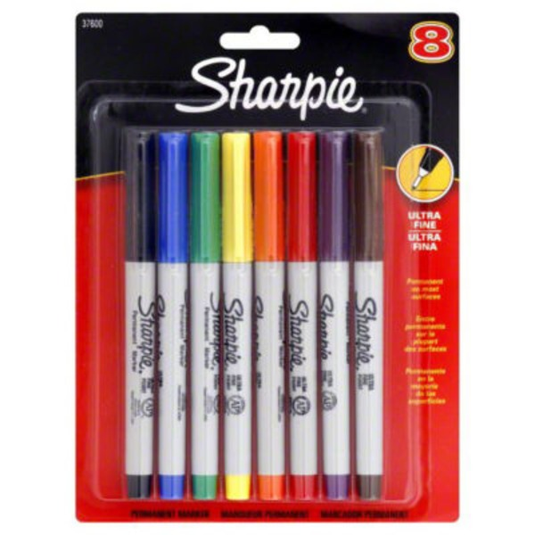 Sharpie Precision Ultra Fine Permanent Marker - 8 CT