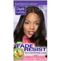 Dark and Lovely Fade Resistant Rich Conditioning Color 371 Jet Black Hair Color