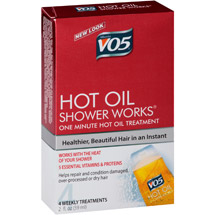VO5 Hot Oil Shower Works One Minute Hot Oil Treatment