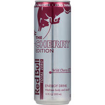 Red Bull The Cherry Edition Total Zero Wild Cherry Energy Drink