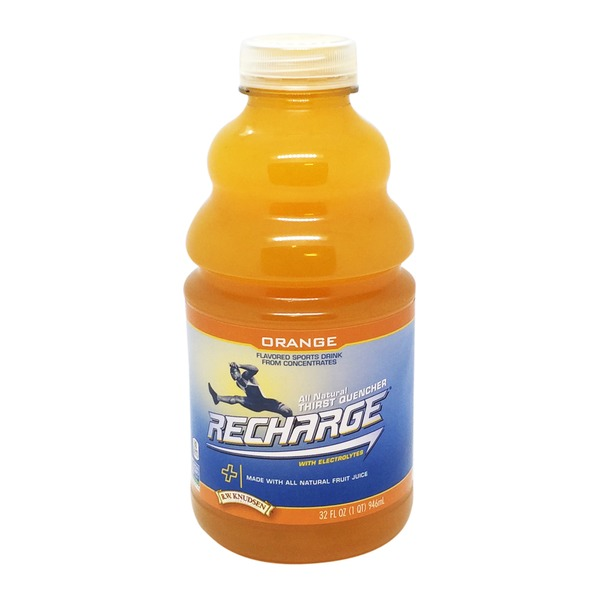 Recharge Orange Flavored Sports Drink