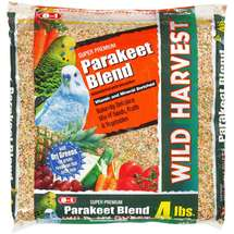 8In1 Pet Products Super Premium Wild Harvest Parakeet Food