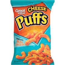 Great Value Cheese Puffs