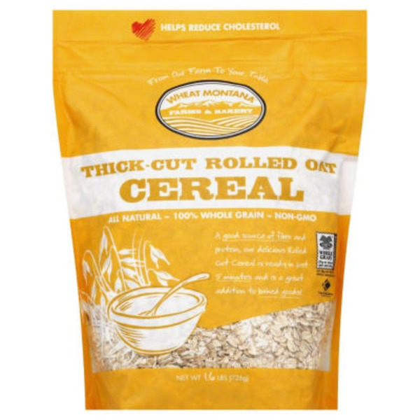 Wheat Montana Thick-Cut Rolled Oat Cereal