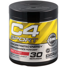 C4 Sport Fruit Punch Concentrated Energy & Performance Powder