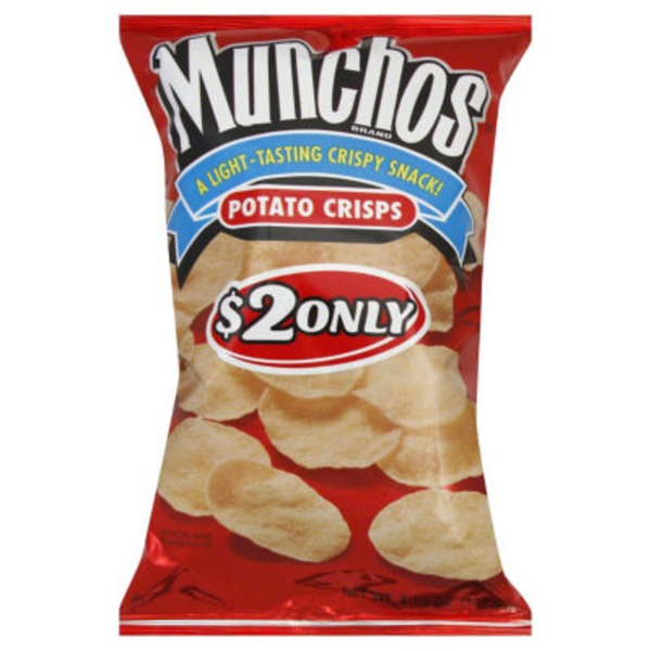 Munchos $2 Only Potato Crisps