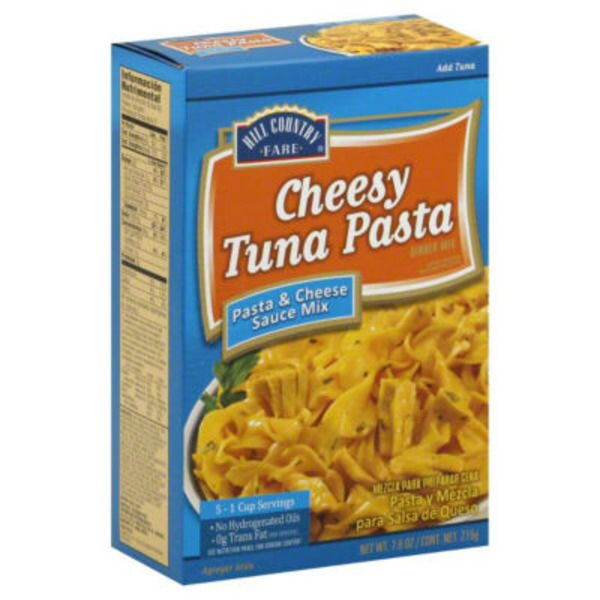 Hill Country Fare Cheesy Tuna Pasta Dinner Mix