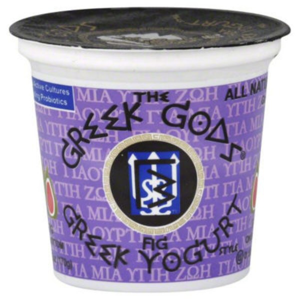 The Greek Gods Yogurt, Greek, Fruit on the Bottom, Honey Fig