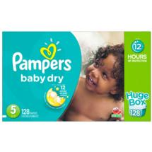 Pampers Baby Dry Diapers Huge Box Size 5
