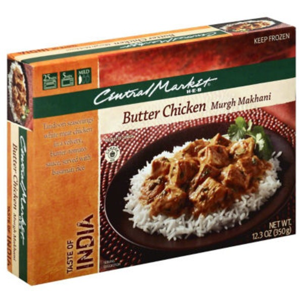 Central Market Mild Butter Chicken Murgh Makhani