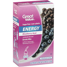 Great Value Blueberry Acai Energy Drink Mix