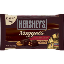 Hershey's Nuggets Special Dark Chocolate with Toffee & Almonds