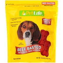 Pet Life Beef Basted Dog Biscuits