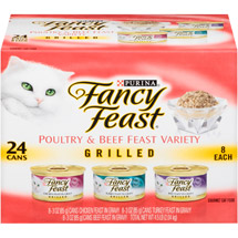 Fancy Feast Grilled 3-Flavor Variety Pack Cat Food