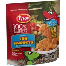 Tyson Breaded Shaped Chicken Patties Fun Nuggets