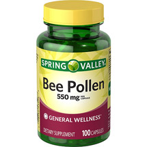 Spring Valley Bee Pollen Capsules
