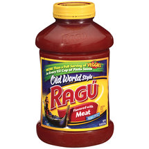 Ragu Old World Style Sauce Flavored With Meat