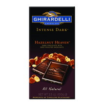 Ghirardelli Chocolate Intense Dark Hazelnut Heaven Chocolate