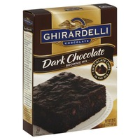 Ghirardelli Chocolate Dark Chocolate Brownie Mix