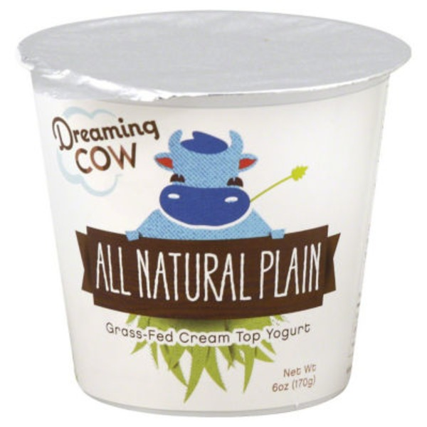 Dreaming Cow Yogurt, All Natural Plain