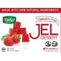 Bakol Natural Stawberry Jel Dessert