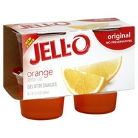 Jell O Ready To Eat Original Orange Gelatin Snacks