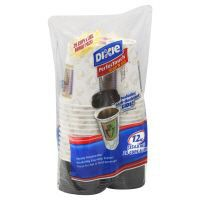 Dixie PerfecTouch Grab'N Go Cups & Lids, 12 oz