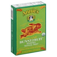 Annie's Homegrown Organic Bunny Tropical Treat Fruit Snacks
