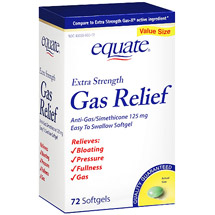Equate Gas Relief Softgels
