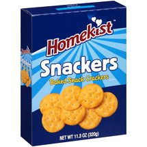 Homekist Snackers Baked Snack Crackers