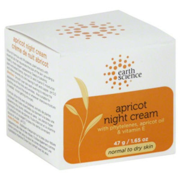 Earth Science Naturals Apricot Night Cream for Dry Skin