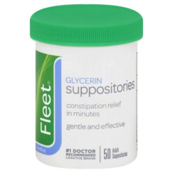 Fleet Glycerin Adult Laxative Suppositories