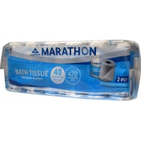 Marathon Two-Ply Bathroom Tissue Big Rolls