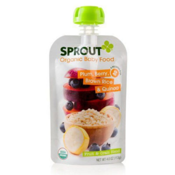 Sprouts Plum, Banana, & Blueberry with Quinoa Organic Baby Food
