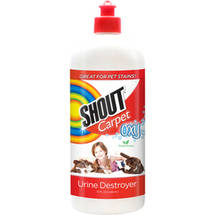 Shout Carpet Oxy Fresh Scent Urine Destroyer