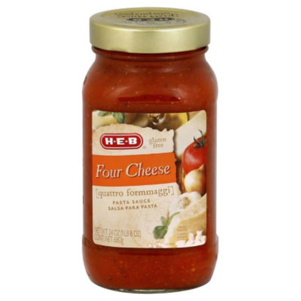 H-E-B Four Cheese Pasta Sauce