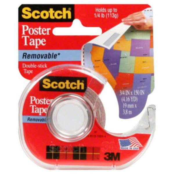 Scotch Double-Stick Poster Tape
