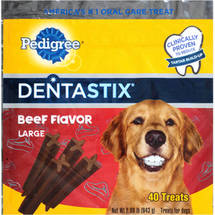 Pedigree Beef Flavor Dentastix