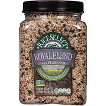 Riceselect Rice Ryl Blend Flaxseed & Black Lnti Pack Of 4