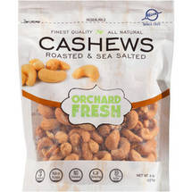Hines Orchard Fresh Roasted & Sea Salted Cashews
