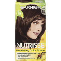 Garnier Nutrisse Permanent Hair Color 53 Medium Golden Brown Chestnut
