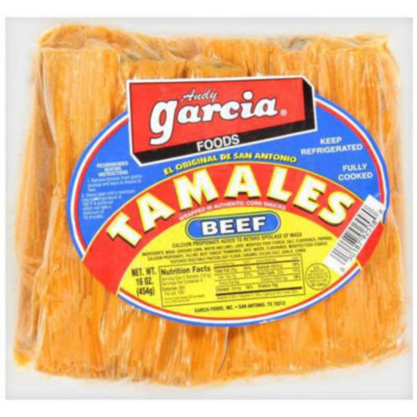 Andy Garcia Beef Tamales