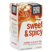 Good Earth Sweet & Spicy Herbal & Black Tea Bags