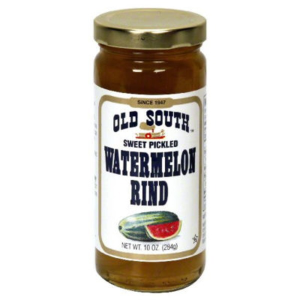 Old South Watermelon Rind, Pickled, Sweet