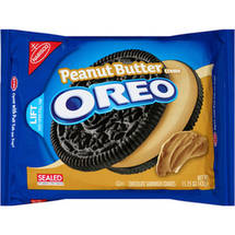 Nabisco Oreo Chocolate Peanut Butter Creme Sandwich Cookies